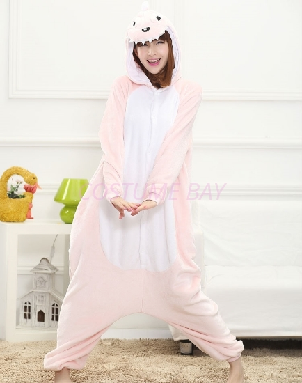 Picture of Pink Dinosaur Onesie