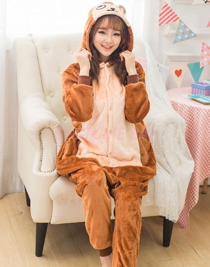 Picture of Brown Monkey Onesie