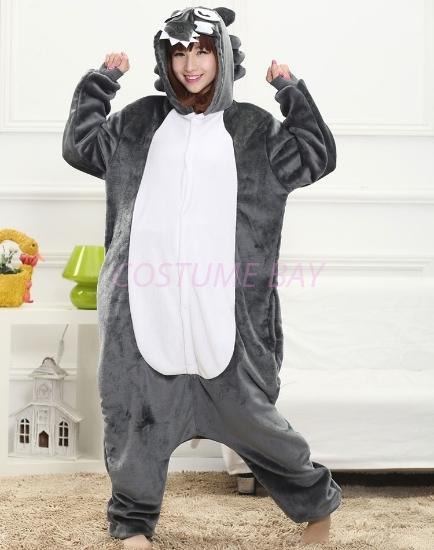 20a8127bb6bf Costume Bay. Grey Wolf Onesie