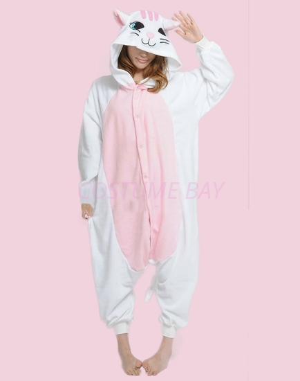 Picture of White Cat Onesie