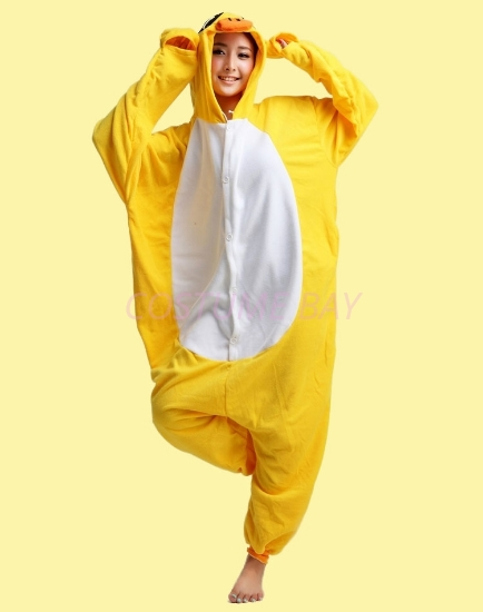Picture of Yellow Duck Onesie
