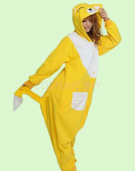 Picture of Yellow Fox Onesie