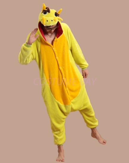 Picture of Yellow-Green Dragon Onesie