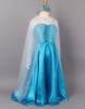 Picture of Frozen Elsa Dress Detachable Elongated Cape