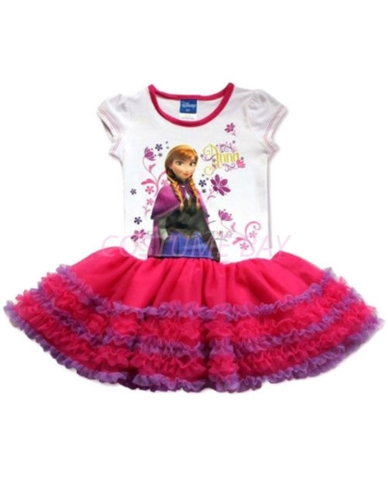 Picture of Frozen Princess Anna Tutu Cake Dress
