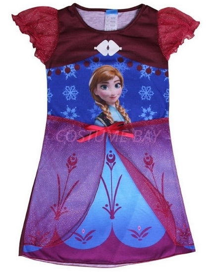 Picture of Frozen Princess Elsa Anna Dress
