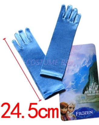 Picture of Frozen Princess Elsa Blue Gloves
