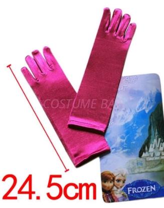 Picture of Frozen Princess Anna fuchsia Gloves