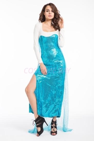 Picture of Adult Women's Disney Frozen Princess Elsa Dress Costume