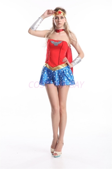 Picture of Superhero Wonder Woman Costume
