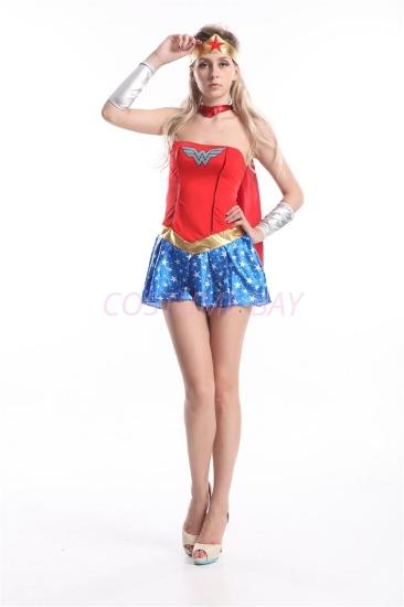 Picture of Superhero Wonder Woman Costume