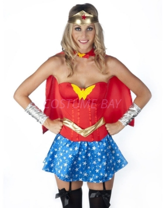 Picture of Superhero Supergirl Wonder Woman Costume