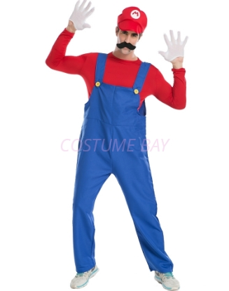 Picture of Super Mario Bros Mens Costume Mario