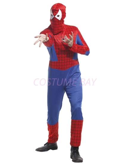 Picture of Men's Superhero Spiderman Costume Jumpsuit