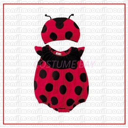 Picture of Baby Rompers Onesie Bodysuit with Hat - Lady Bug