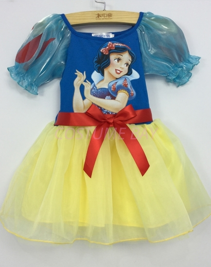 Picture of Girls Snow White Princess Dress