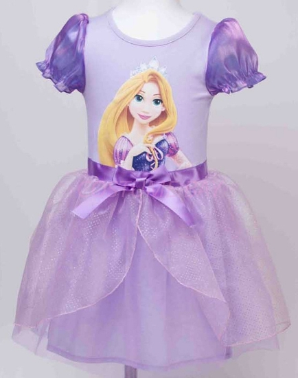 Picture of Girls Rapunzel Tangled Princess Dress