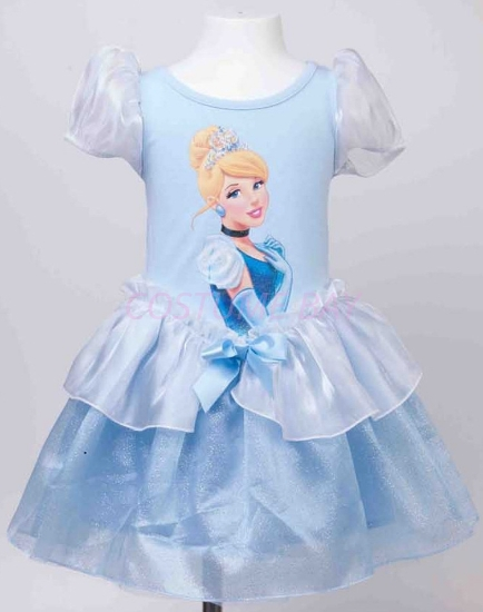 Picture of Girls Cinderella Princess Dress
