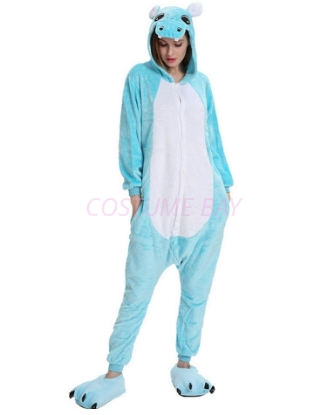 Picture of Blue Hippo Onesie