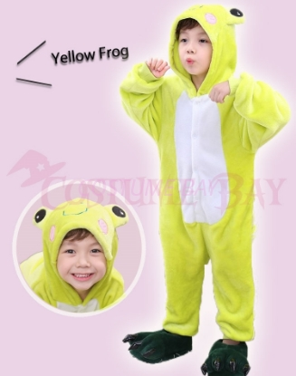 Picture of Yellow Frog Kids Onesie