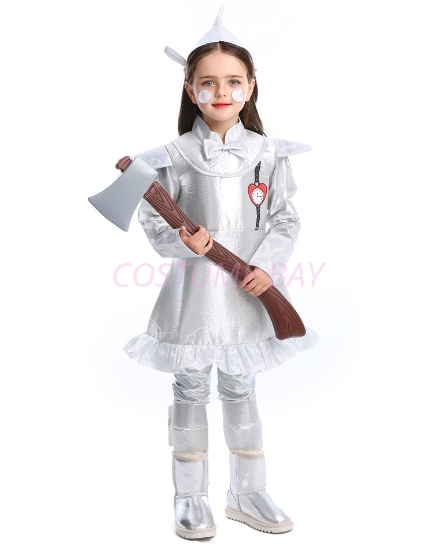Picture of Wizard of OZ - Girls TIN MAN Costume