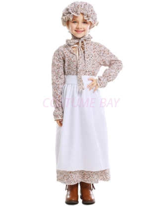 Picture of Girls Pioneer Colonial Costume for Book Week