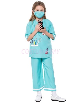 Picture of Kids Nurse Doctor Vet Costume for Book Week