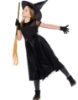 Picture of Girls Black Witch Costume