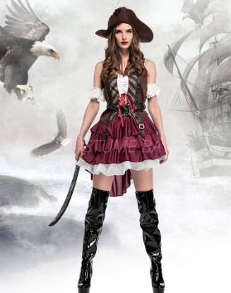 Picture of Women's Sexy Pirate Costume
