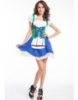 Picture of Ladies Oktoberfest Bavarian Beer Maid Wench Fancy Dress Costume