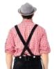 Picture of Bavarian Guy Mens Lederhosen Red Shirt