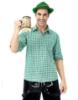Picture of Bavarian Guy Mens Lederhosen Green Shirt