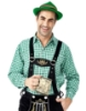Picture of Bavarian Guy Mens Lederhosen Shirt - Black