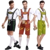 Picture of Mens  Oktoberfest Bavarian Lederhosen Costume