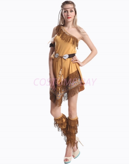 Picture of Sexy Native Indian Pocahontas Womens Costume