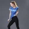 Picture of Quick Dry Blue Captain America Fitness Top