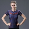 Picture of Quick Dry Bat Girl Fitness Top