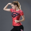 Picture of Quick Dry Pink Superwomen Fitness Top