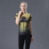 Picture of Quick Dry Yellow Flash Girl Fitness Top