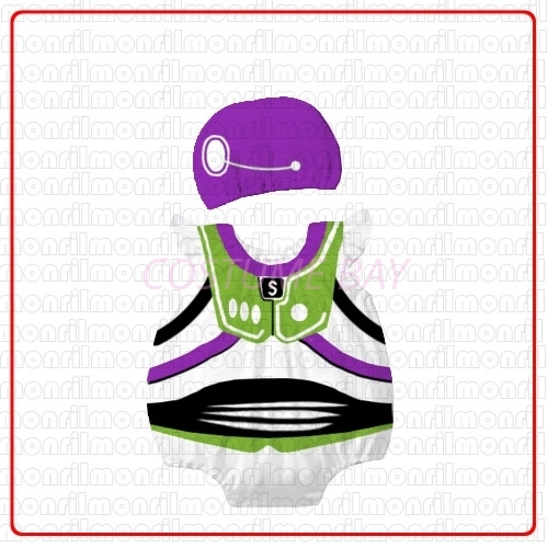 Picture of Baby Rompers Onesie Bodysuit with Hat - Buzz Lightyear