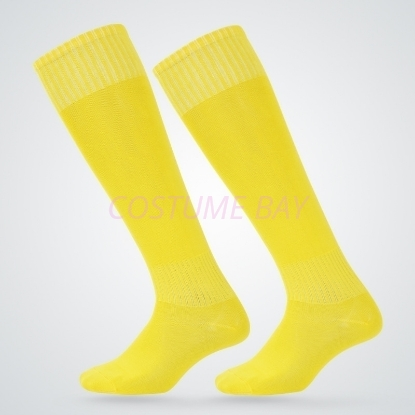 Picture of Mens High Knee Football Socks - Yellow