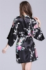 Picture of Women Floral Satin Kimono Robes - Pink