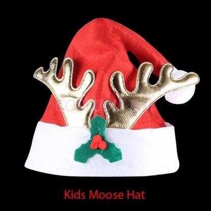 Picture of Christmas Kids Reindeer Moose Hat