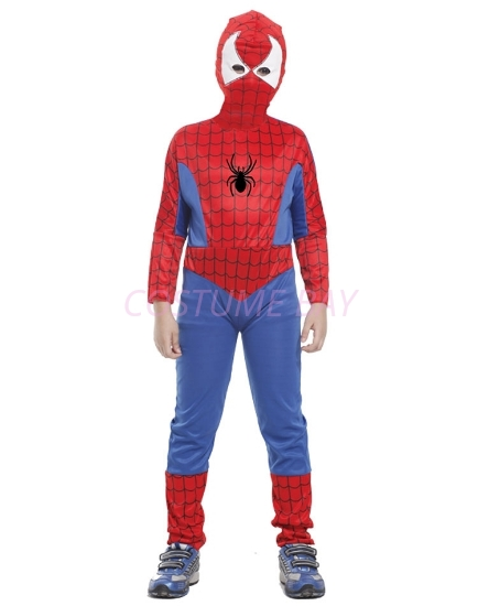 Picture of Boys Superhero Spiderman Costume