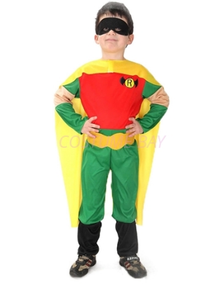 Picture of Boys Superhero Robin Costume