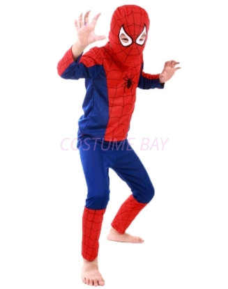 Picture of Boys Superhero Spiderman Costume -Red