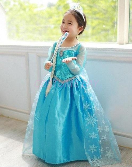 Picture of Frozen Princess Elsa Dress