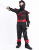 Picture of Boys Superhero Black Ninja Costume for Book Week