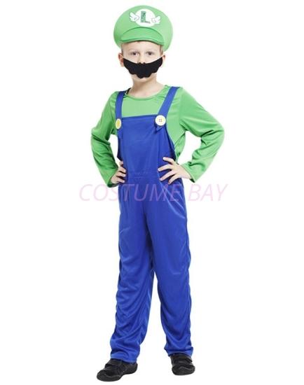Picture of Boys Super Mario - Luigi Costume