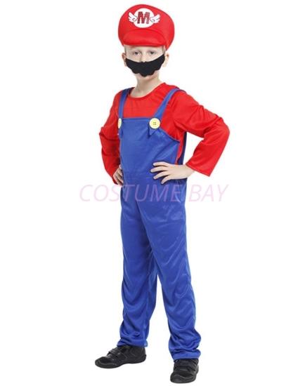 Picture of Boys Super Mario - Mario Costume
